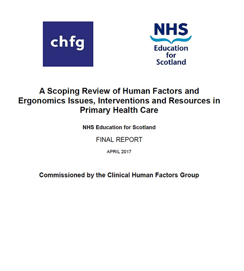 Scoping Review of Human Factors and Ergonomics in Primary Care