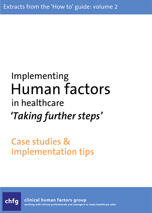 'How to' Guide to Human Factors – Top Tips