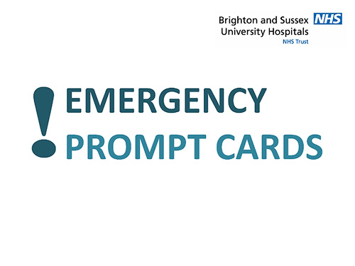 Emergency Prompt Cards