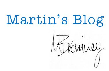 Martin's Blog 11/05/2016