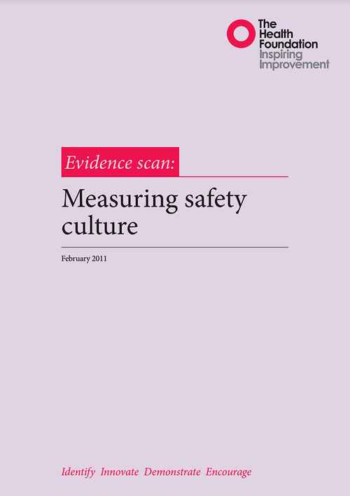 Measuring Safety Culture
