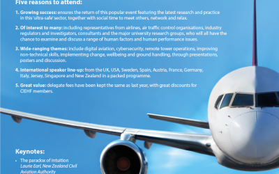 CIEHF event – Human Factors in Aviation Safety