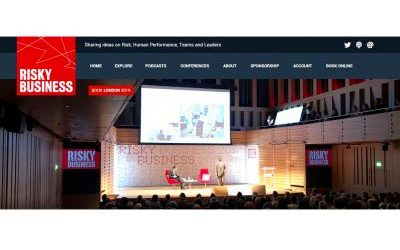Risky Business Conference – 5th-7th June – London 2019