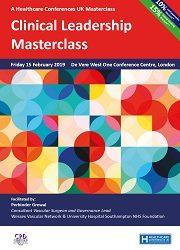 Clinical Leadership Masterclass – 15th February 2019