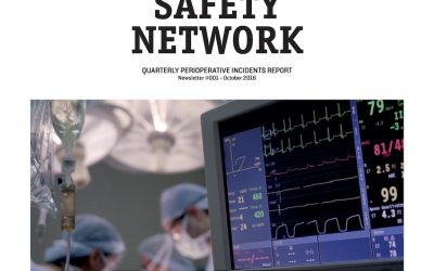 Anaesthesia Safety Network Newsletter April 2019