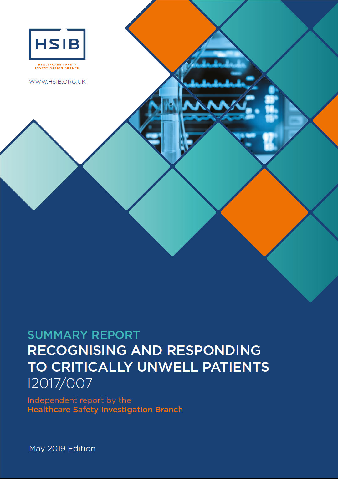 HSIB report Recognising and responding to critically unwell patients
