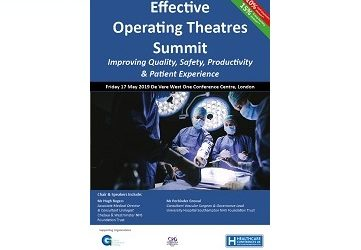 Effecting Operating Theatres Summit 17th May 2019