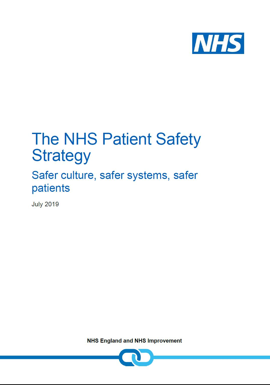 Patient Safety Strategy 2019