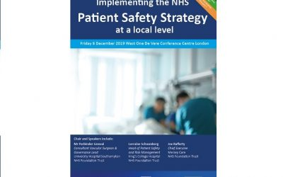 Implementing Patient Safety Strategy at local level 6th December 2019