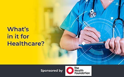 What's in it for Healthcare? Martin Bromiley OBE