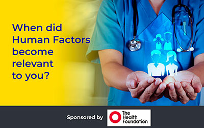 When did Human Factors become relevant to you? With Nikki Davey