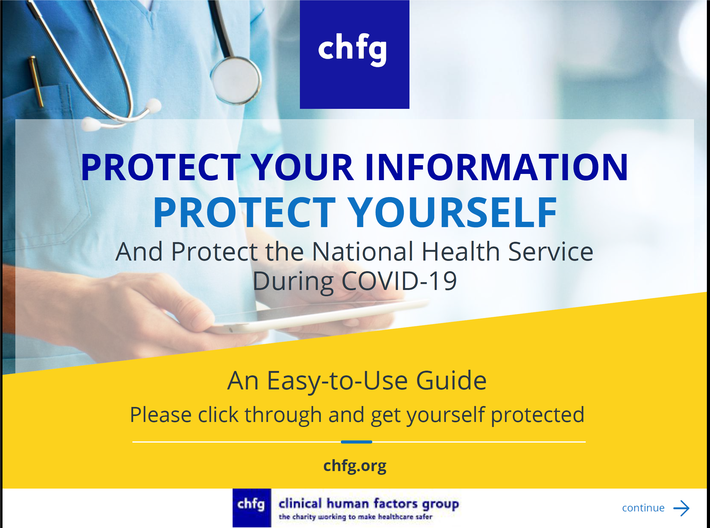 Protect yourself, protect the NHS