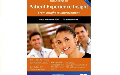 Patient Experience from Insight to Improvement 6th November 2020