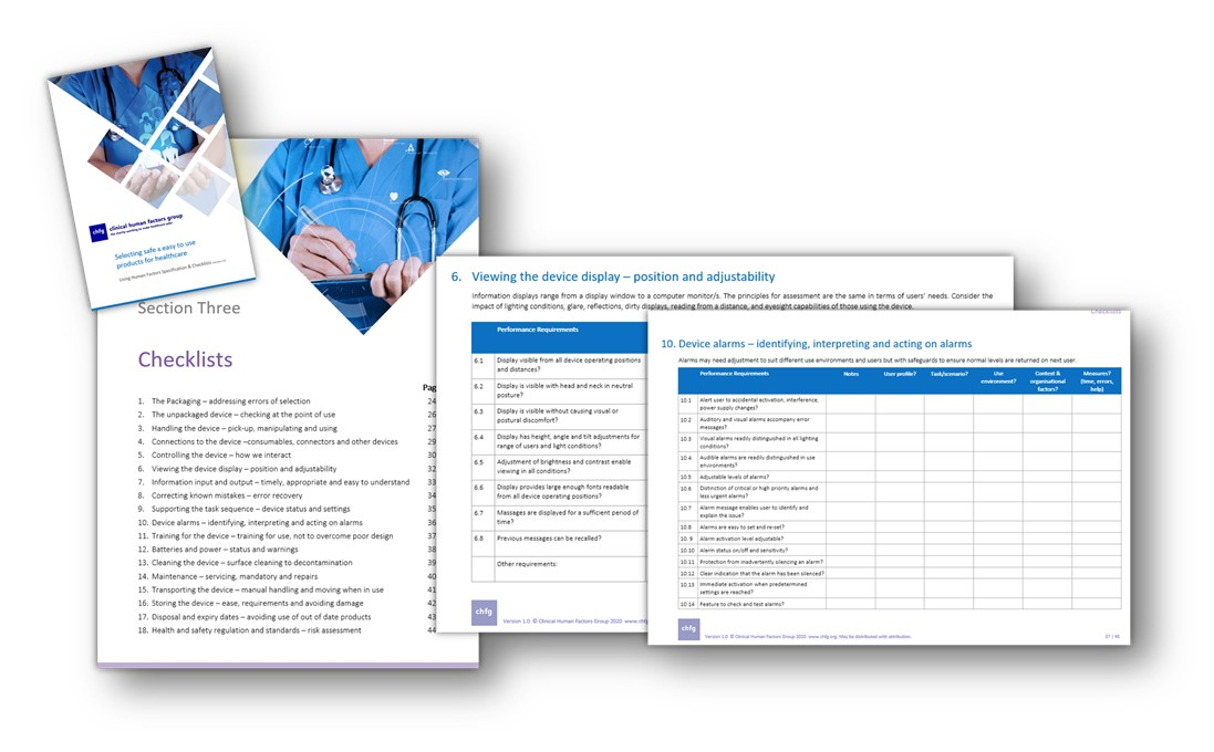 Specifying, buying, assessing any healthcare products?