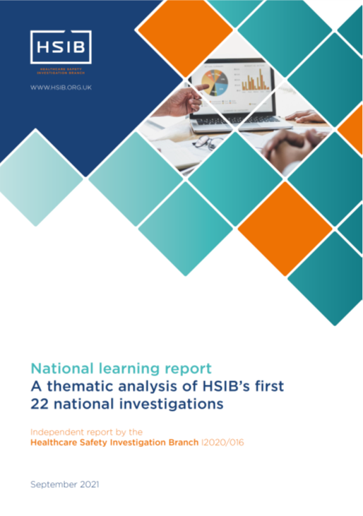 HSIB National Learning Report